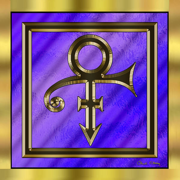 Digital Art - Prince  by Chuck Staley