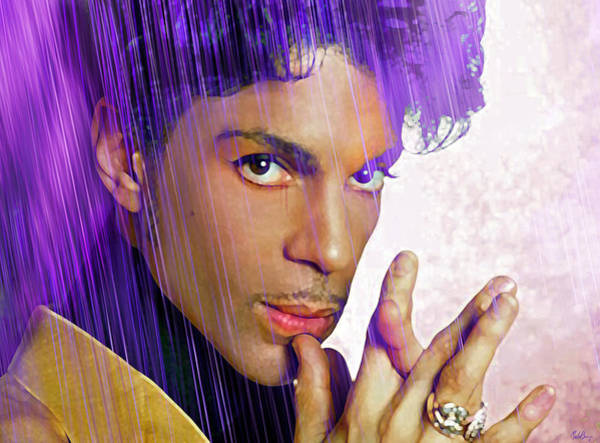 Prince Rogers Nelson Wall Art - Digital Art - Prince For You by Mal Bray