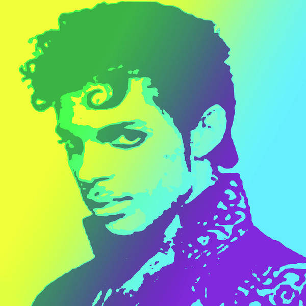 Wall Art - Drawing - Prince by Greg Joens