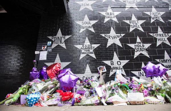 Wall Art - Photograph - Prince Memorial First Avenue Minneapolis 7 by Wayne Moran