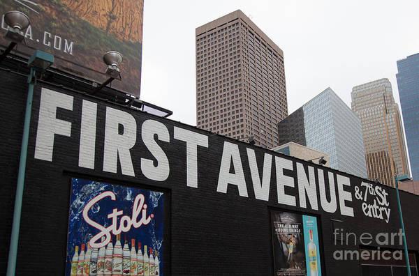 Wall Art - Photograph - Prince Memorial First Avenue Minneapolis by Wayne Moran