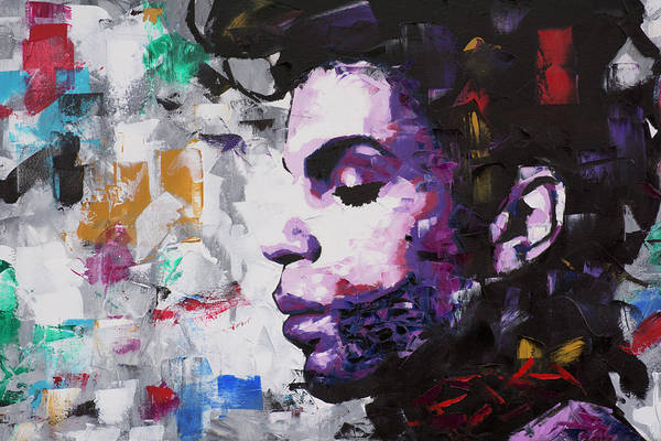 Soul Wall Art - Painting - Prince Musician II by Richard Day