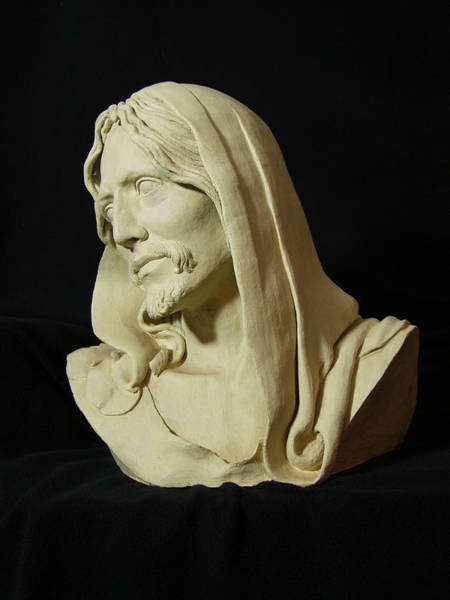 Wall Art - Sculpture - Prince Of Peace by Steven Paul Carlson