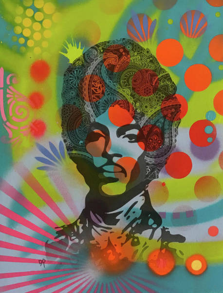 Wall Art - Painting - Prince Paisley by Dean Russo Art