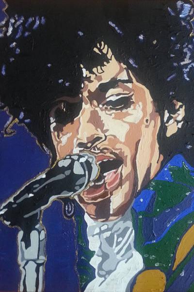 Painting - Prince by Rachel Natalie Rawlins