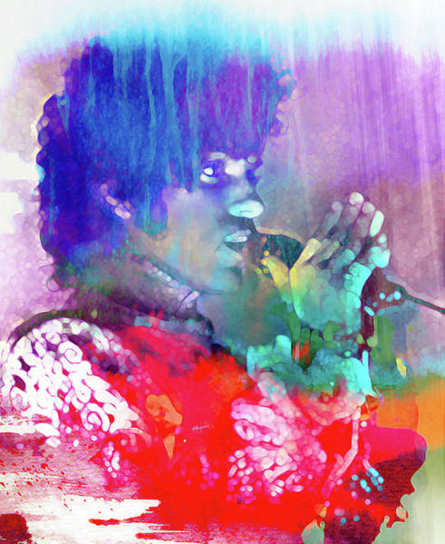 Prince Rogers Nelson Wall Art - Mixed Media - Prince Rogers Nelson by Mal Bray