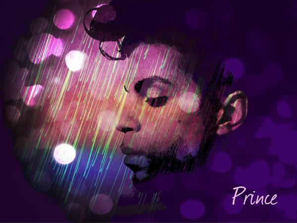 Prince Rogers Nelson Wall Art - Digital Art - Prince by Rumiana Nikolova