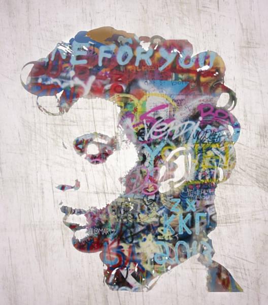 Purple Rain Digital Art - Prince by Sara Sutton