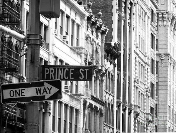 Photograph - Prince Street by Mary Capriole
