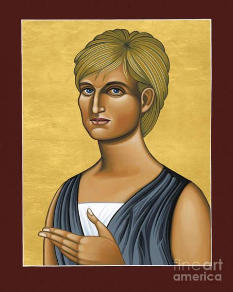 Painting - Princess Diana 078 by William Hart McNichols