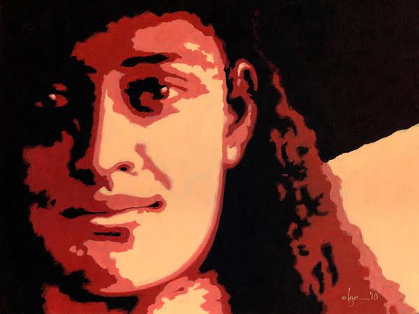 Painting - Princess Kaiulani by Angela Treat Lyon