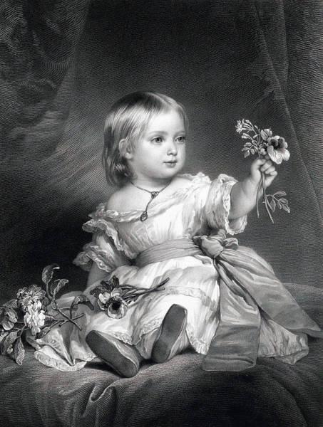 1805 Painting - Princess Royal by Franz Xaver Winterhalter