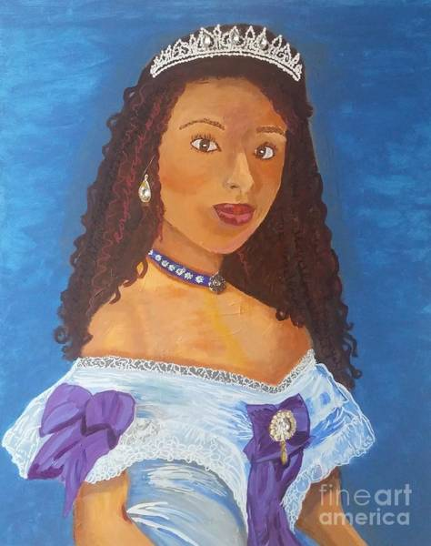 Painting - Princess Tiff by Jennylynd James