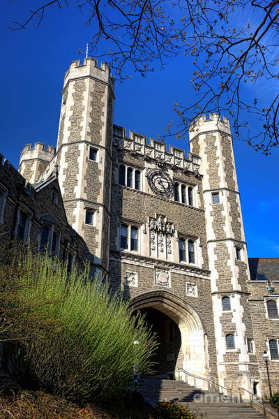 Photograph - Princeton University Blair And Buyers Hall Tower by Olivier Le Queinec