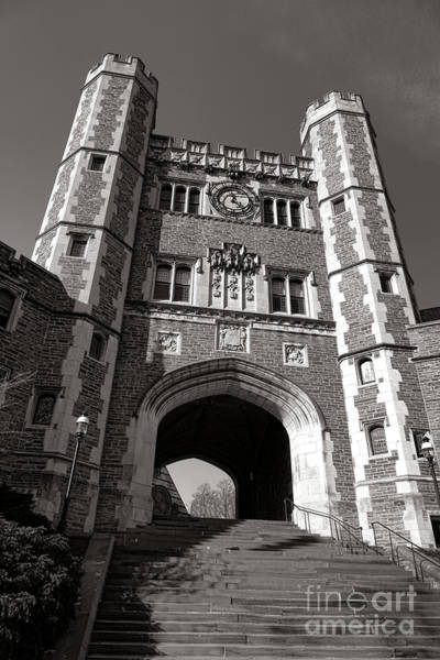 Photograph - Princeton University Buyers Hall Tower Stairs by Olivier Le Queinec