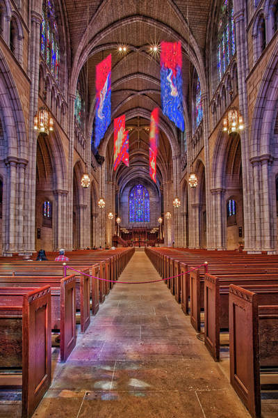 Photograph - Princeton University Chapel by Susan Candelario