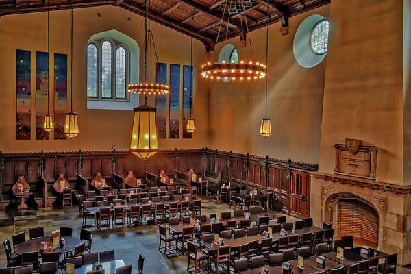 Wall Art - Photograph - Princeton University Community Hall by Susan Candelario