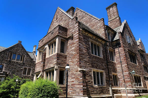 Photograph - Princeton University Cuyler Hall by Olivier Le Queinec