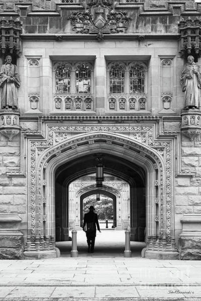 Photograph - Princeton University East Pyne Arch by University Icons