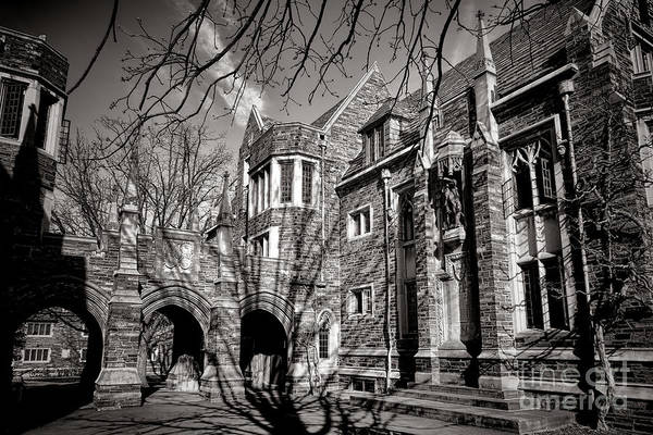 Photograph - Princeton University Foulke And Henry Halls Archway by Olivier Le Queinec