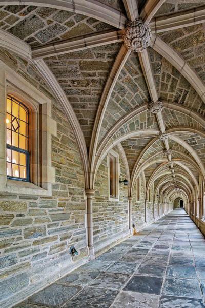 Photograph - Princeton University Hallway by Susan Candelario