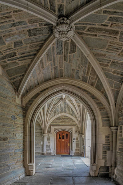 Photograph - Princeton University Holder Hall Arches by Susan Candelario