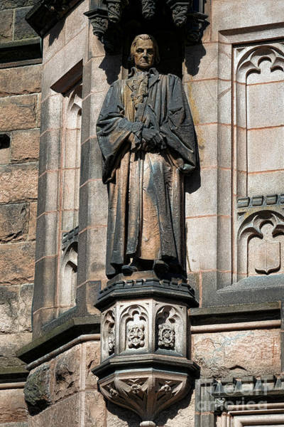 Photograph - Princeton University J Witherspoon Statue  by Olivier Le Queinec