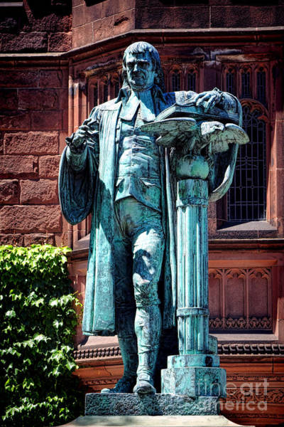 Photograph - Princeton University John Witherspoon Statue by Olivier Le Queinec