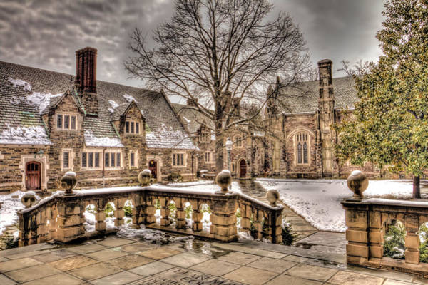 Wall Art - Photograph - Snow / Winter Princeton University by Geraldine Scull