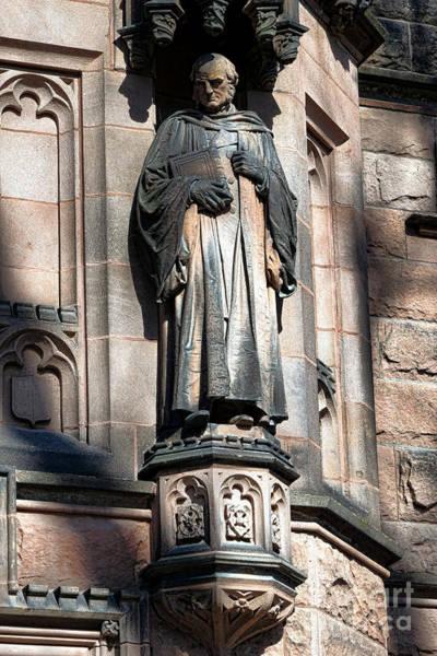 Photograph - Princeton University Mc Cosh Statue  by Olivier Le Queinec