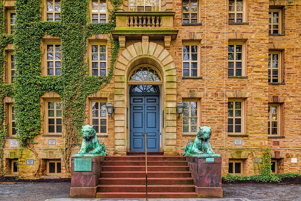 Wall Art - Photograph - Princeton University Nassau Hall by Susan Candelario
