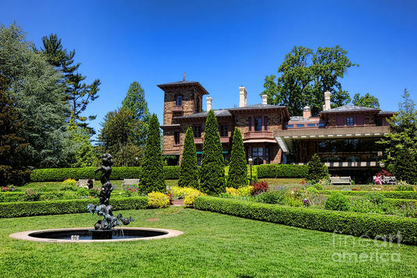 Photograph - Princeton University Prospect Gardens And House by Olivier Le Queinec