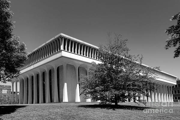 Photograph - Princeton University Robertson Hall by Olivier Le Queinec