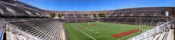 Photograph - Princeton University Stadium Powers Field Panoramic by Olivier Le Queinec