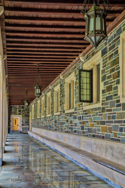 Wall Art - Photograph - Princeton University Whitman College Hallway by Susan Candelario