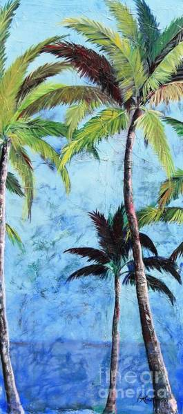 Painting - Princeville Palms  by Kristen Abrahamson
