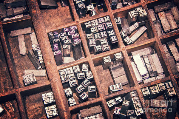 Printer Photograph - Printing Blocks by Delphimages Photo Creations