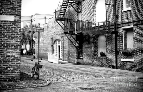 Photograph - Prioleau Street Charleston by John Rizzuto