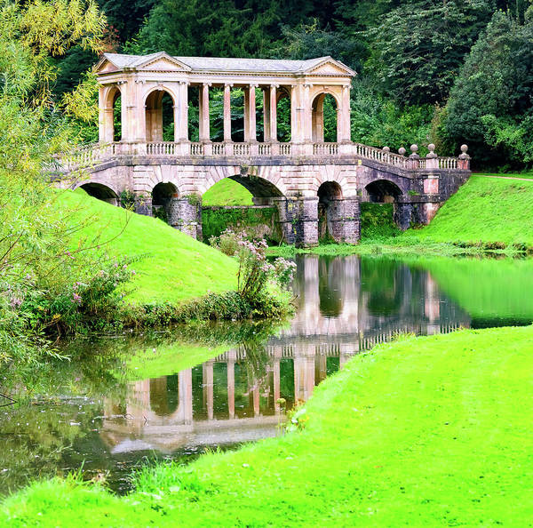 Photograph - Prior Park Palladian Bridge by Colin Rayner