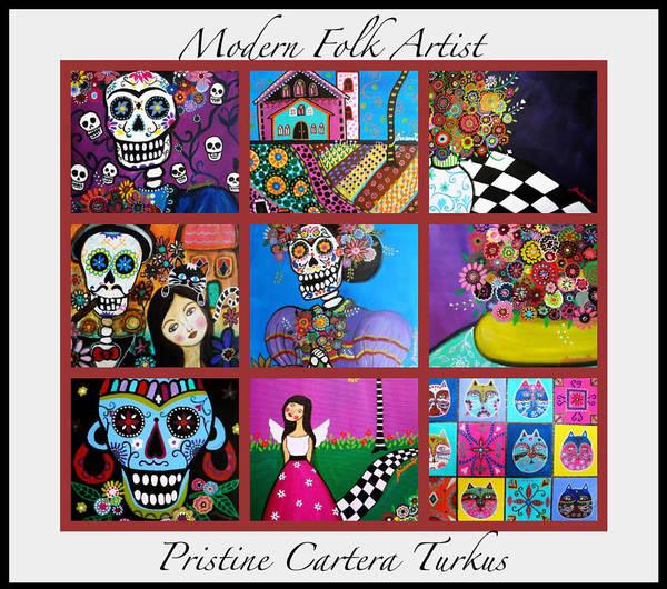 Painting - Prisarts Paintings by Pristine Cartera Turkus