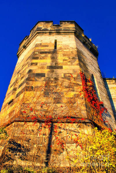 Photograph - Prison Tower Wall by Paul W Faust - Impressions of Light