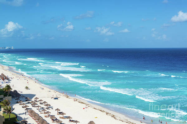 Wall Art - Photograph - Pristine Beach In Cancun by Jess Kraft
