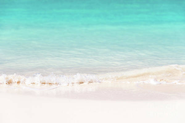 White Sand Photograph - Pristine Water And White Sand by Delphimages Photo Creations