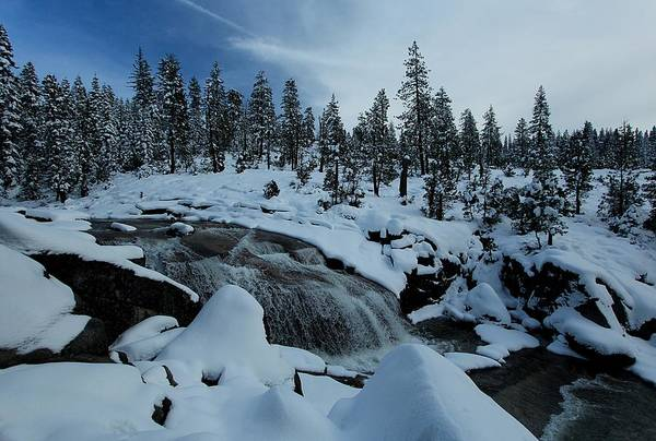 Photograph - Pristine Winter by Sean Sarsfield