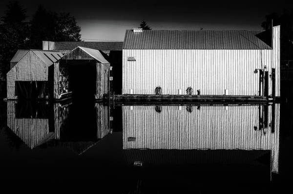 Photograph - Private Moorage by M G Whittingham