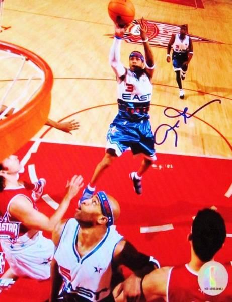 Memphis Grizzlies Wall Art - Photograph - Pro Basketball Player #3 Guard Allen Iverson by Donna Wilson