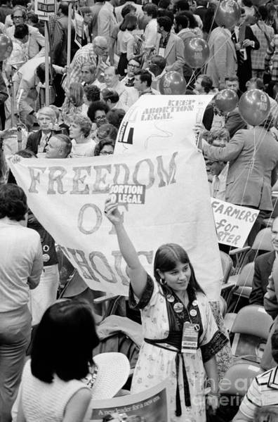 Photograph - Pro-choice Rally, 1976 by Granger