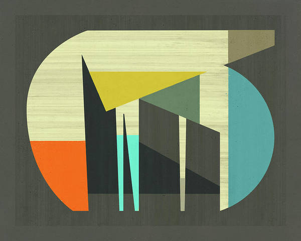 Geometry Digital Art - Probably by Jazzberry Blue