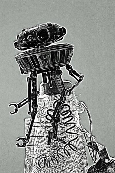 Galactic Empire Photograph - Probe Stuck by Modern Art