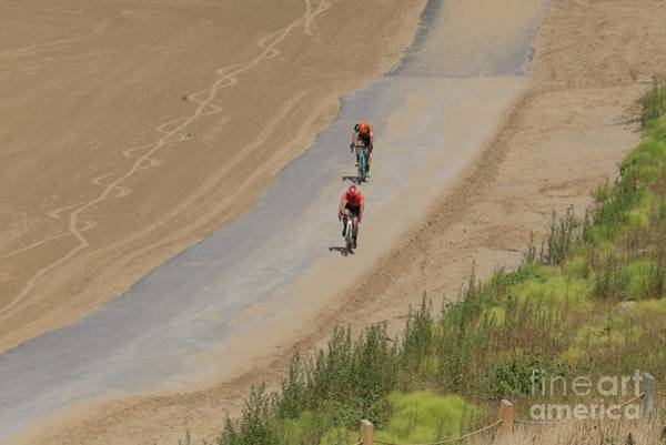 Carbon Fiber Photograph - Professional Cyclocross Cycling Race by Douglas Sacha